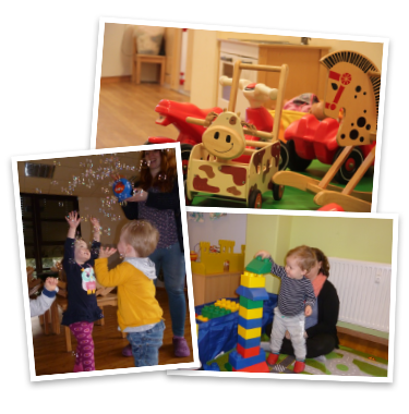 Kindernest Kunterbunt Collage
